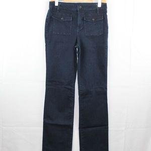 Tory Burch Jeans 10 Dark Wash Straight Leg 30x33